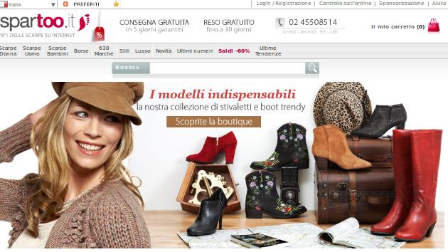 Offerte Spartoo 2013: le nuove scarpe alla moda
