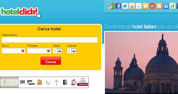 OFFERTE ALBERGHI HOTEL CLICK