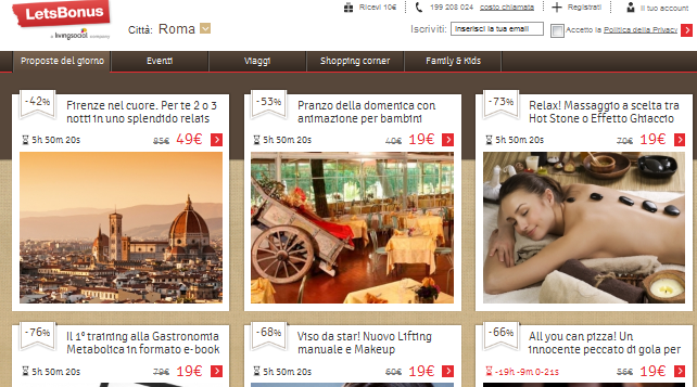 Titolo discount coupons