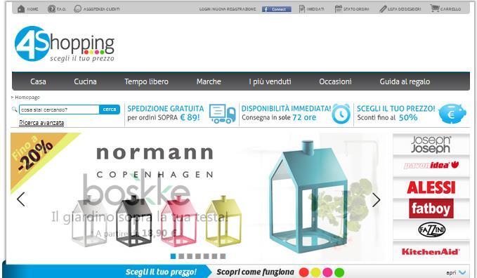 Offerte fourshopping: convenienza per la casa