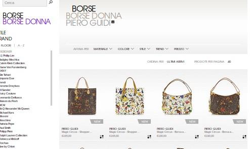Offerte borse Piero Guidi: bellezza e convenienza
