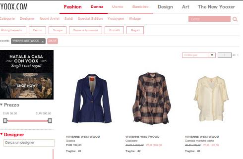 Abbigliamento Vivienne Westwood: esattamente cio' che vuoi